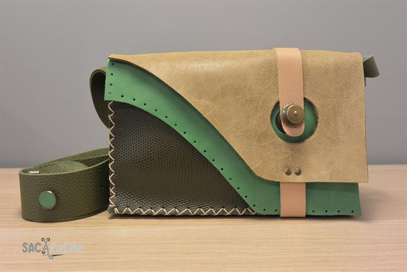 Gorgeous Leather Bags By Sacapuche With Lo Fasteners